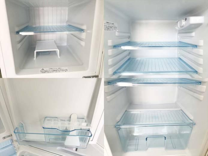 アビテラックス2ドア冷蔵庫直冷式138リットル詳細画像3