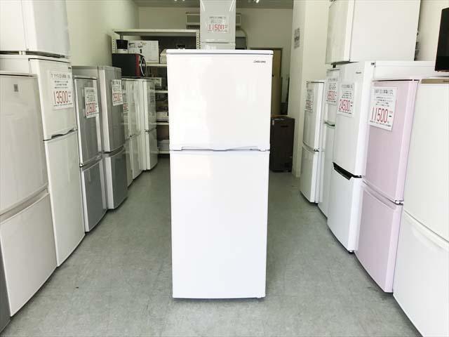 2ドア冷蔵庫直冷式138リットル