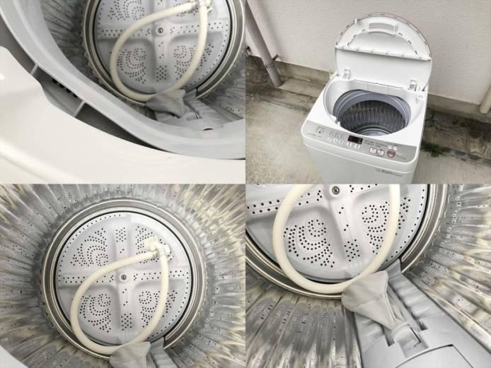 シャープ6キロ洗濯機清潔槽クリーン詳細画像3