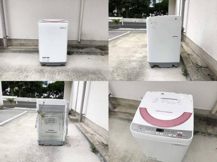 シャープ6キロ洗濯機清潔槽クリーン詳細画像5