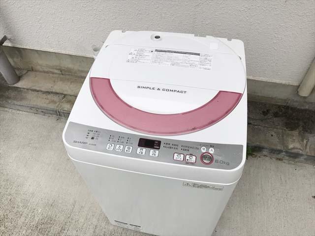 6キロ洗濯機清潔槽クリーン