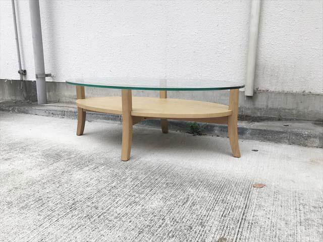 フランフランオーガリビングコーヒーテーブル