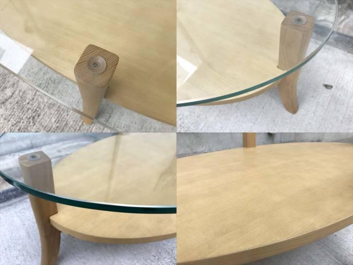 フランフランオーガリビングコーヒーテーブル詳細画像2