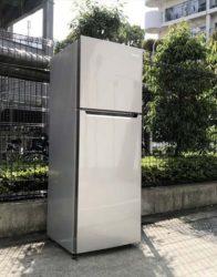 ハイセンス2ドア冷蔵庫大型227リットル