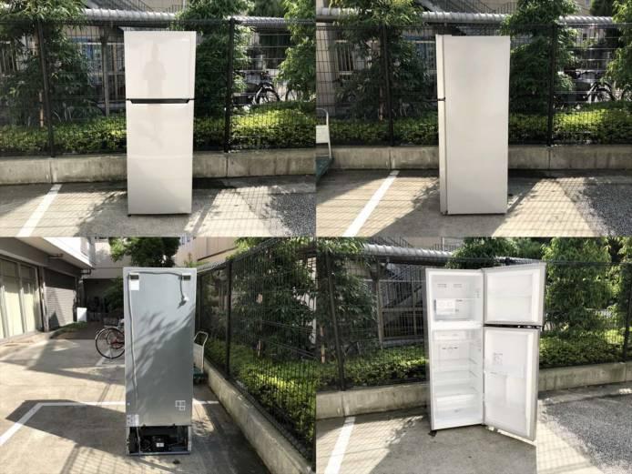 ハイセンス2ドア冷蔵庫大型227リットル詳細画像7