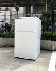 アイリスオーヤマ2ドア冷蔵庫コンパクト81リットル
