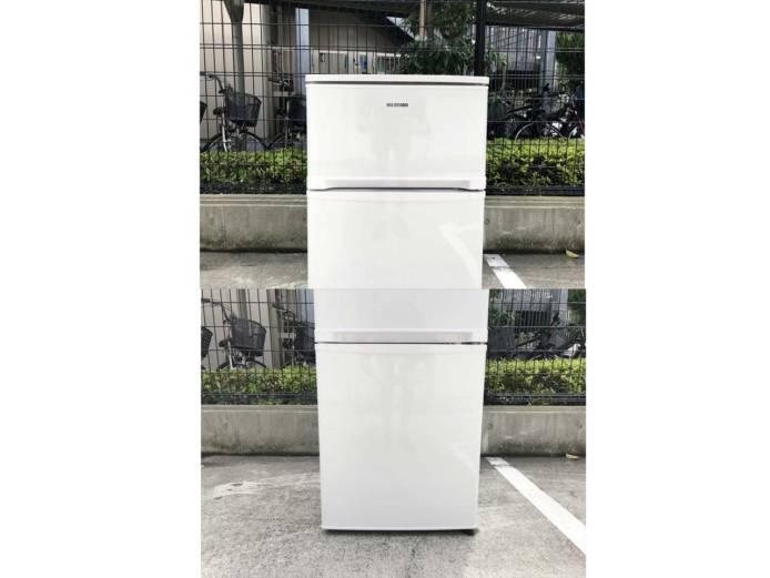 アイリスオーヤマ2ドア冷蔵庫コンパクト81リットル詳細画像5
