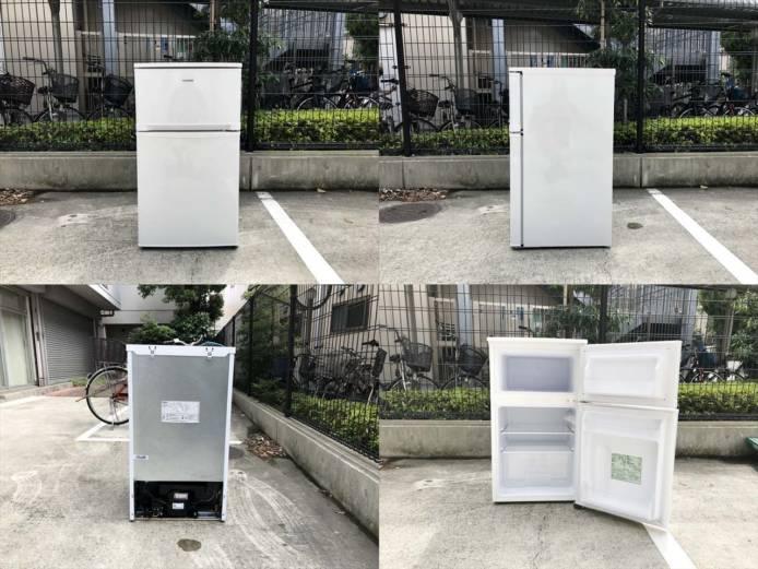 アイリスオーヤマ2ドア冷蔵庫コンパクト81リットル詳細画像6