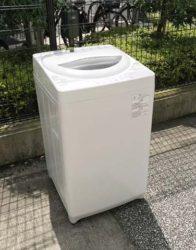 東芝全自動洗濯機5キログランホワイト
