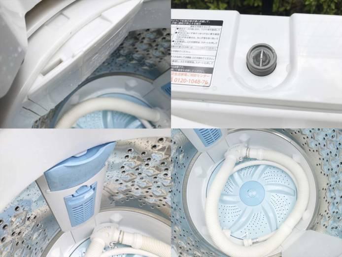 東芝全自動洗濯機5キログランホワイト詳細画像2