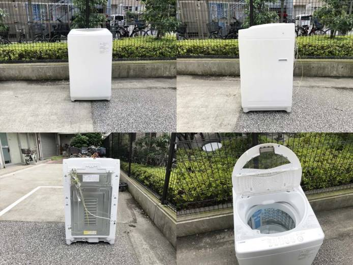 東芝全自動洗濯機5キログランホワイト詳細画像5