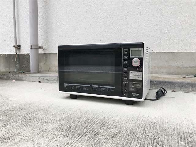 日立オーブン電子レンジターンテーブル