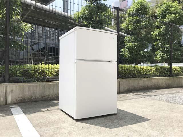 ヤマダ電機2ドア冷蔵庫直冷式90リットル