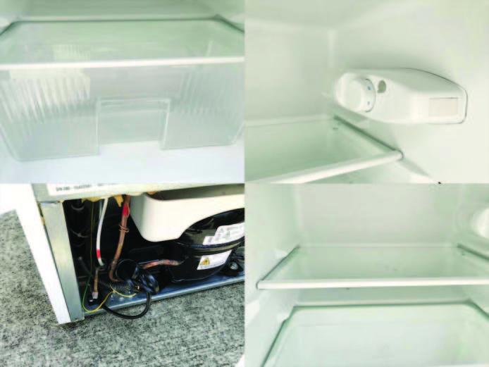 ヤマダ電機2ドア冷蔵庫直冷式90リットル詳細画像1