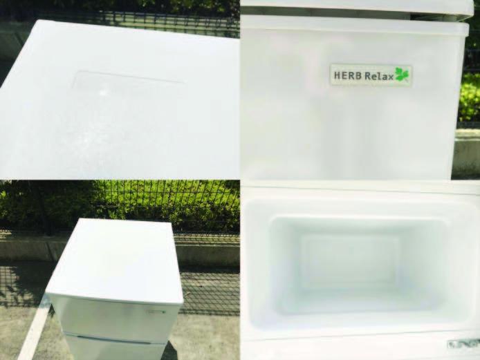 ヤマダ電機2ドア冷蔵庫直冷式90リットル詳細画像4