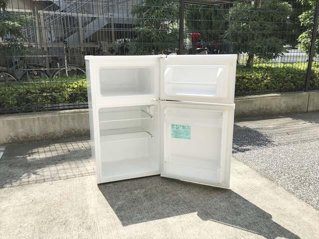 2ドア冷凍冷蔵庫91リットル単身用