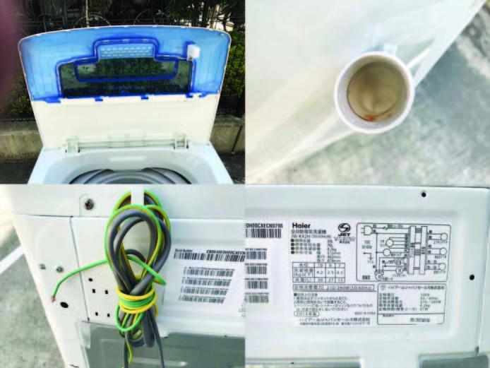 ハイアール4.2キロ縦型洗濯機2014年製詳細画像1