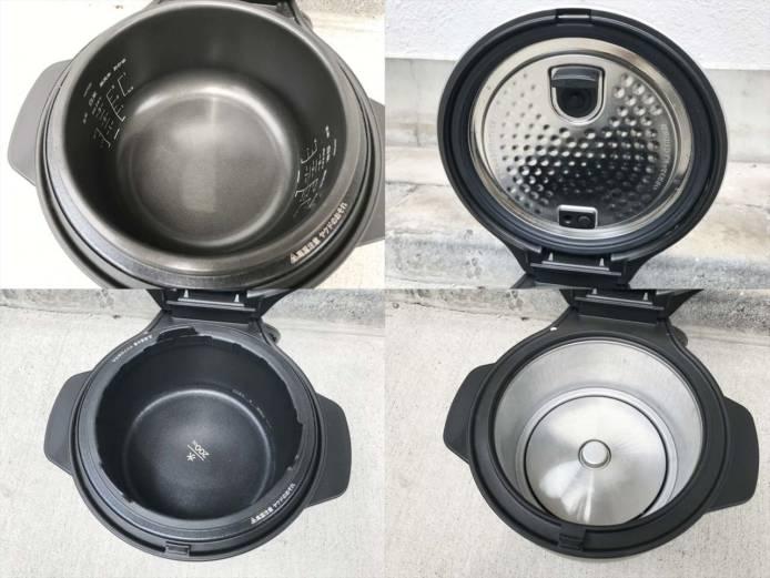 バルミューダザゴハン電気炊飯器3合炊き詳細画像3