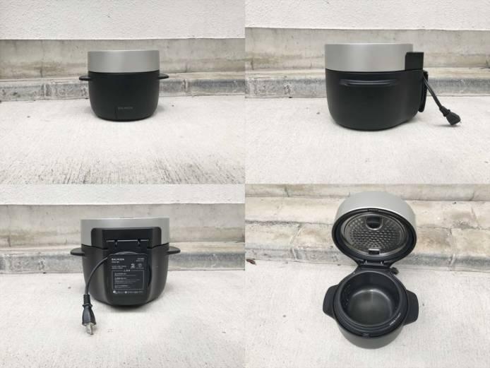 バルミューダザゴハン電気炊飯器3合炊き詳細画像5
