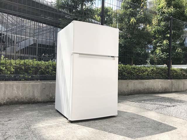 ビックカメラアマダナ2ドア冷蔵庫単身用