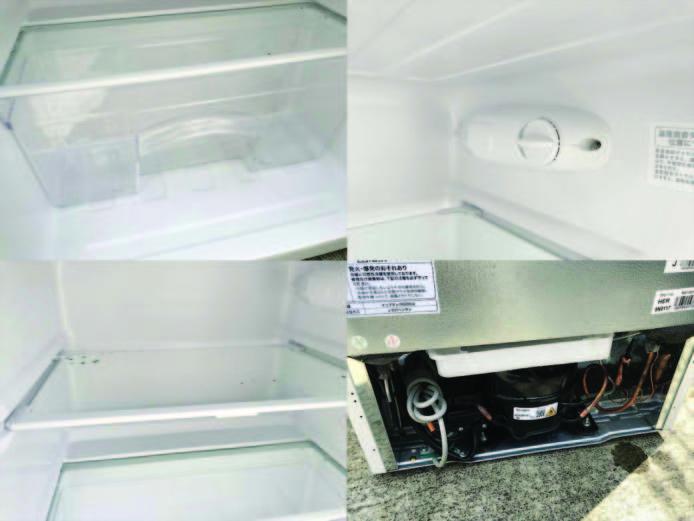 ビックカメラアマダナ2ドア冷蔵庫単身用詳細画像1