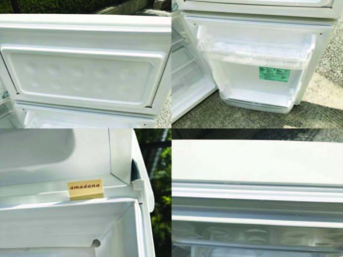 ビックカメラアマダナ2ドア冷蔵庫単身用詳細画像3