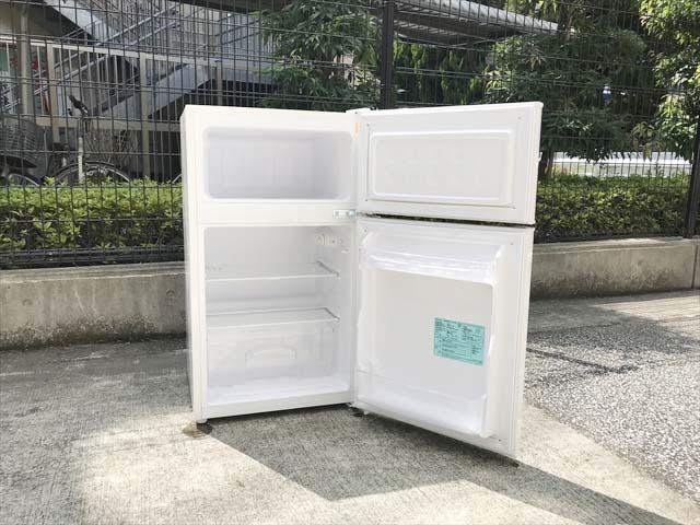 アマダナ2ドア冷蔵庫単身用