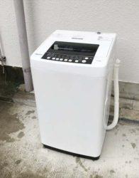 ハイセンス5.5キロ洗濯機2人分らくらく大容量