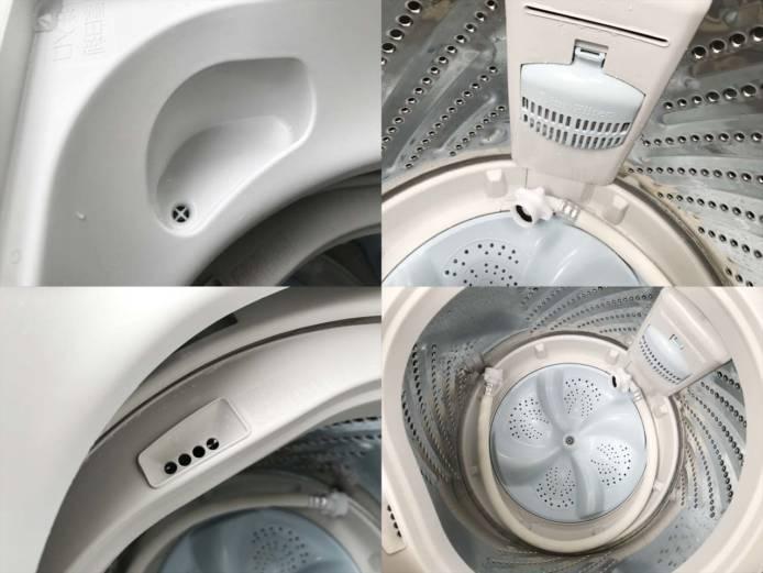 ハイセンス5.5キロ洗濯機2人分らくらく大容量詳細画像2