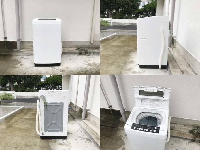 ハイセンス5.5キロ洗濯機2人分らくらく大容量詳細画像4