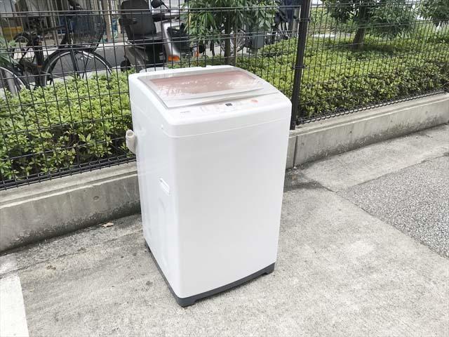 アクア7キロ洗濯機2018年製ファミリータイプ