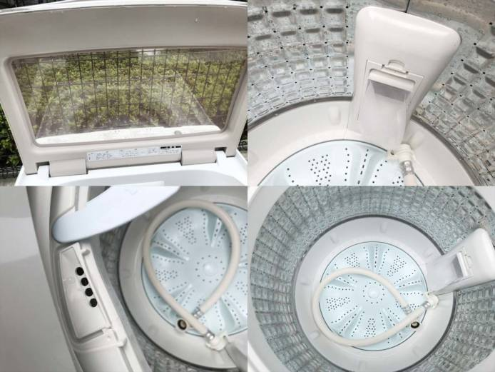 アクア7キロ洗濯機2018年製ファミリータイプ詳細画像2