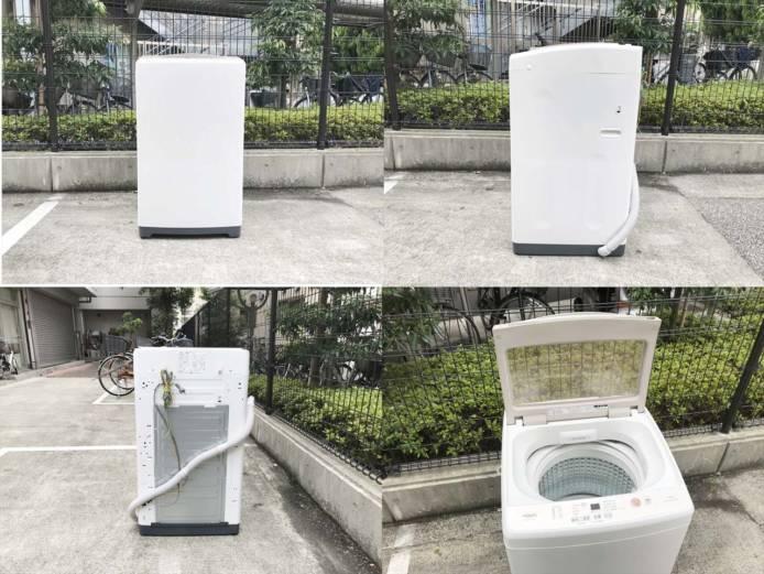 アクア7キロ洗濯機2018年製ファミリータイプ詳細画像4