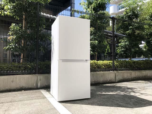 ニトリ2ドア冷蔵庫106リットルグラシア