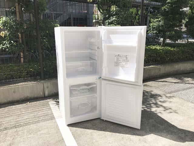 2ドア冷蔵庫106リットルグラシア