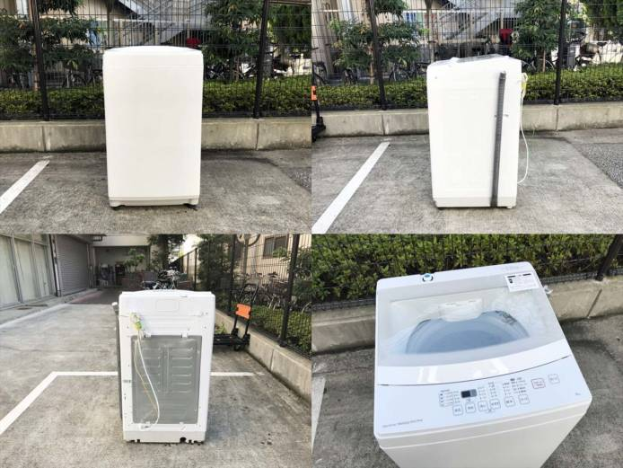 ニトリ全自動洗濯機6キロトルネ詳細画像4