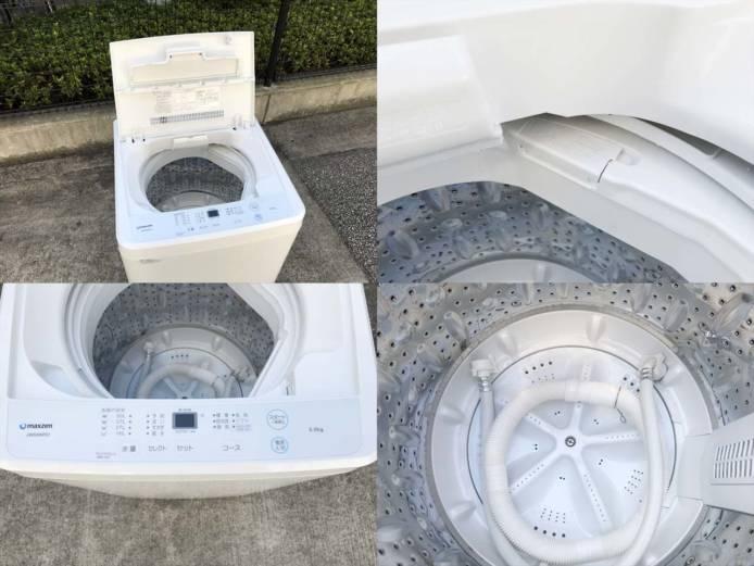 マクスゼン5.5キロ洗濯機ひとり暮らし高年式詳細画像3