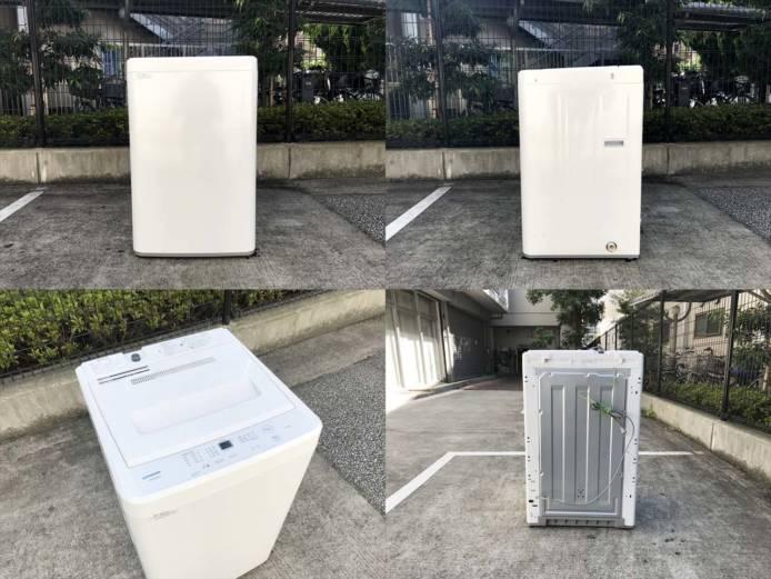 マクスゼン5.5キロ洗濯機ひとり暮らし高年式詳細画像4