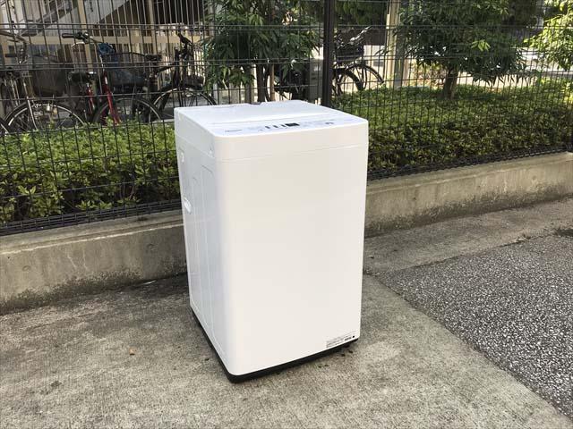 ハイセンス洗濯機5.5キロ高年式ローダウン
