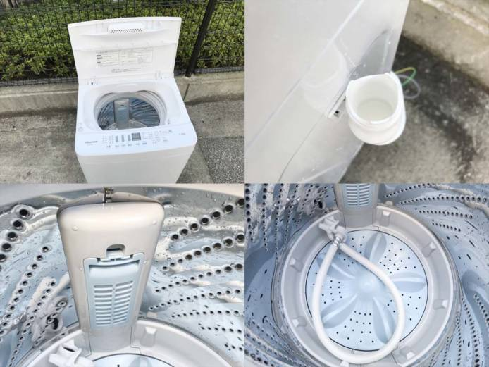 ハイセンス洗濯機5.5キロ高年式ローダウン詳細画像2
