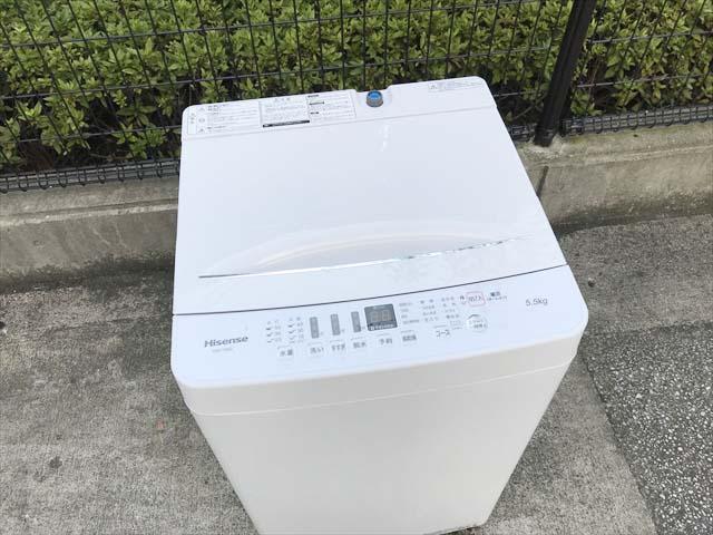 洗濯機5.5キロ高年式ローダウン