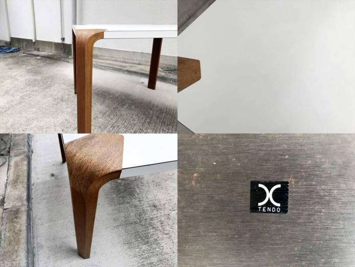 天童木工アントラーダイニングテーブルメラミン詳細画像1