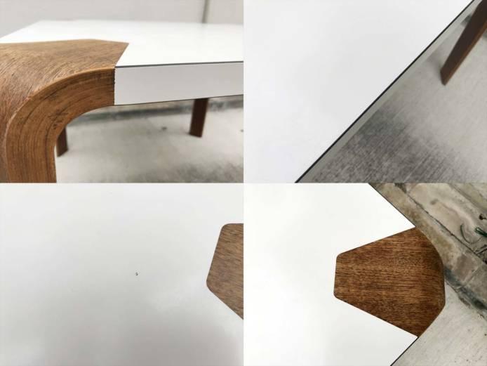 天童木工アントラーダイニングテーブルメラミン詳細画像2