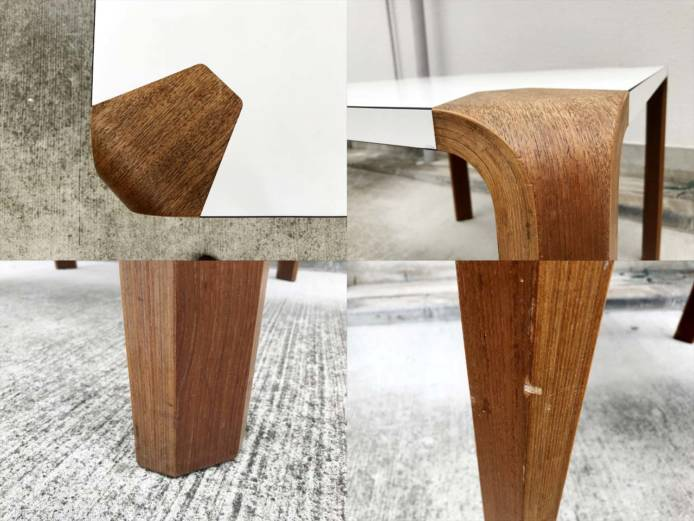 天童木工アントラーダイニングテーブルメラミン詳細画像3