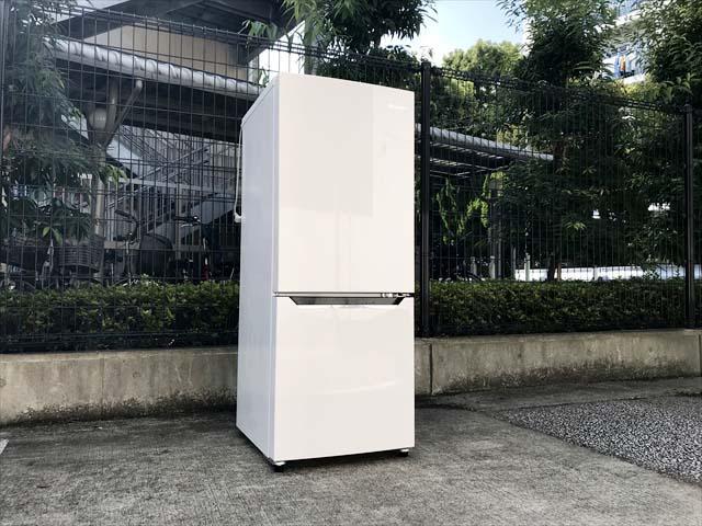 ハイセンス2ドア冷蔵庫アラーム搭載2020年製