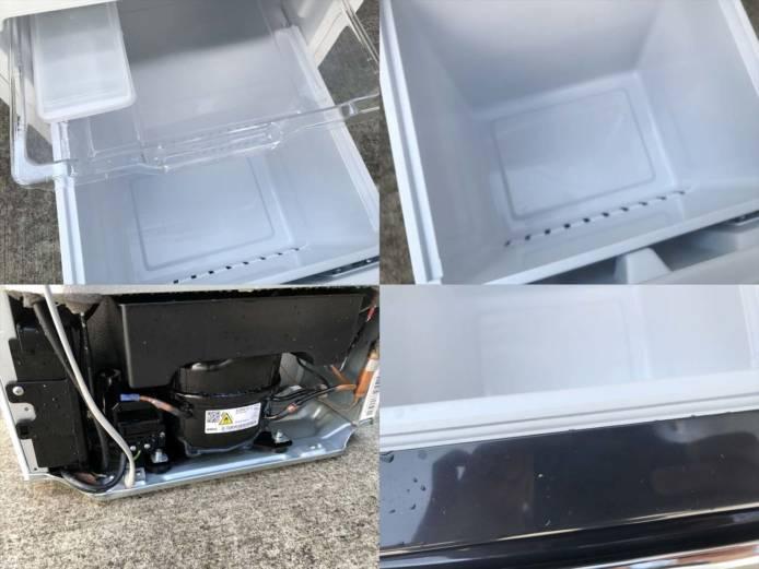 ハイセンス2ドア冷蔵庫アラーム2020年製詳細画像1