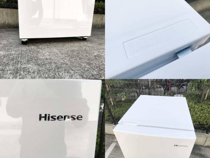 ハイセンス2ドア冷蔵庫アラーム2020年製詳細画像4