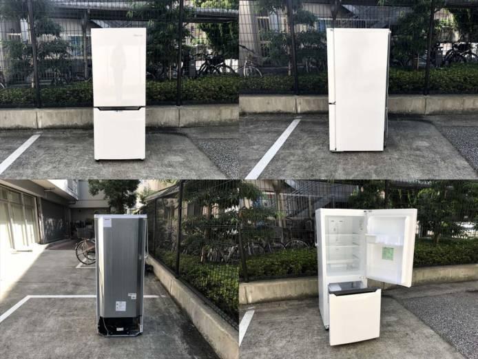 ハイセンス2ドア冷蔵庫アラーム2020年製詳細画像6