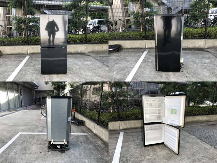 ユーイング2ドア冷蔵庫大容量ボトムフリーザー詳細画像6