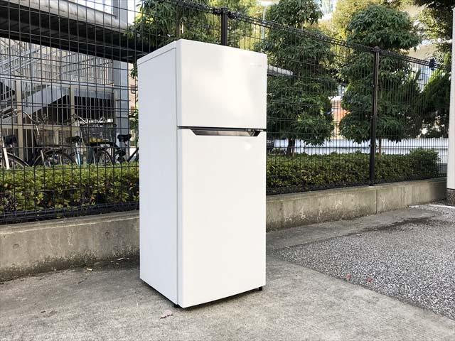 ハイセンス2ドア冷蔵庫高年式シンプルデザイン